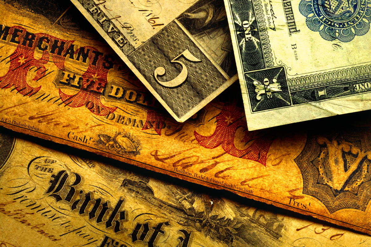 Old Paper Currency